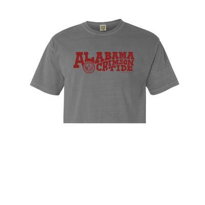 Alabama Women's Comfort Color Cropped T-Shirt