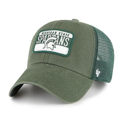 Michigan State 47' Brand Adjustable Mesh Patch Hat