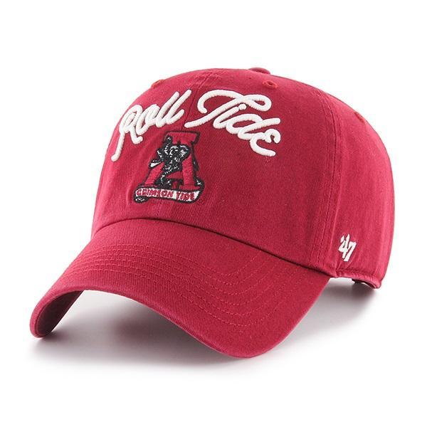 Alabama 47 ' Brand Women's Script Adjustable Clean Up Hat