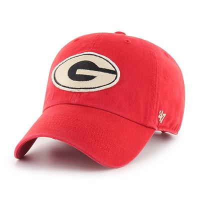 Georgia 47' Brand Felt Logo Adjustable Hat