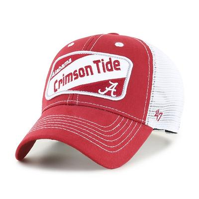 Alabama 47' Brand Kid's MVP Mesh Patch Hat