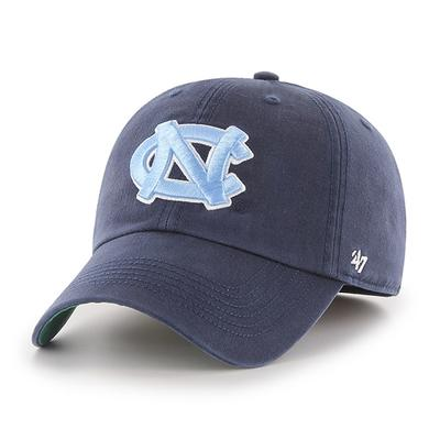 UNC 47' Brand Navy Franchise Fitted Hat
