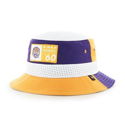 LSU 47' Brand Turnover 3-Tone Bucket Hat