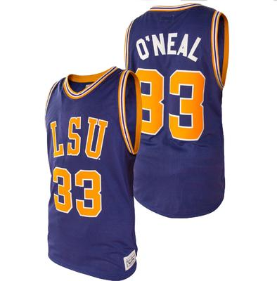 LSU Shaquille O'Neal Basketball Jersey