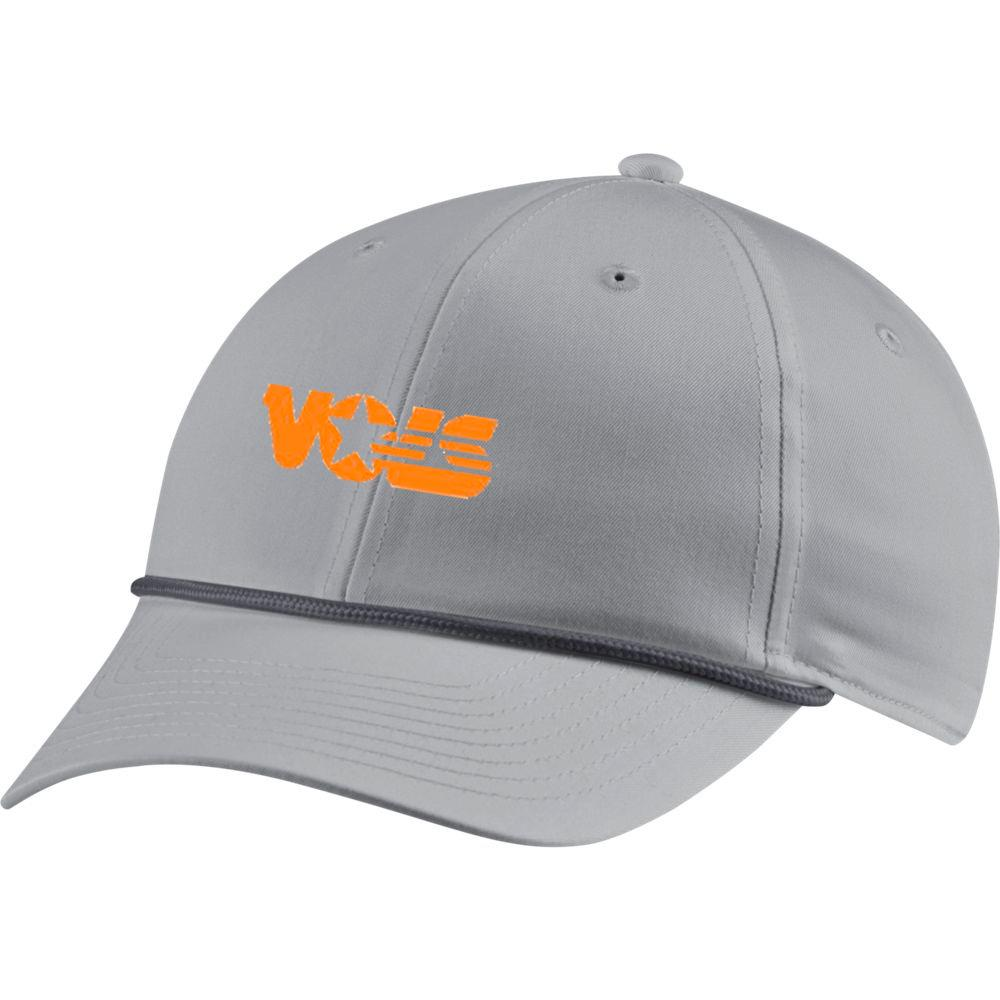 Tennessee Nike Golf L91 Vault Rope Volstar Logo Adjustable Hat