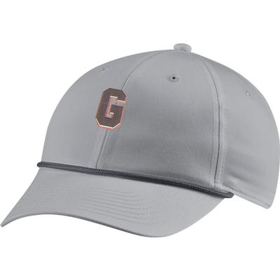 Georgia Nike Golf L91 Vintage Rope Block G Logo Adjustable Hat