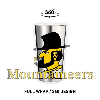 Appalachian State 16 oz Yosef Pint