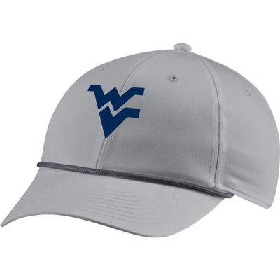 West Virginia Nike Golf Men's L91 Rope WV Logo Adjustable Hat