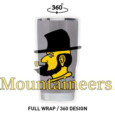 Appalachian State 20 oz Full Wrap Yosef Tumbler