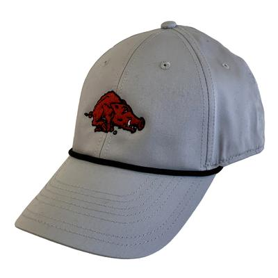 Arkansas Nike Golf L91 Vault Rope Hog Logo Adjustable Hat