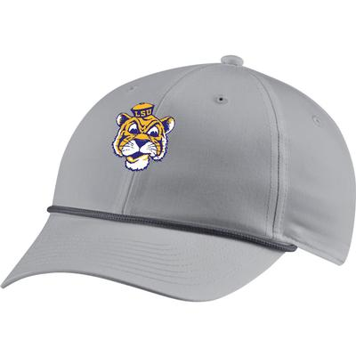 LSU Nike Golf Men's L91 Vault Rope Cartoon Tiger Logo Adjustable Hat