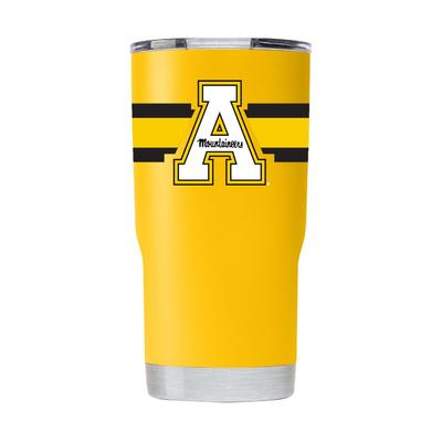 Appalachian State 20 oz Striped A Tumbler