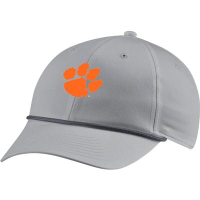 Clemson Nike Golf Men's L91 Rope Paw Logo Adjustable Hat