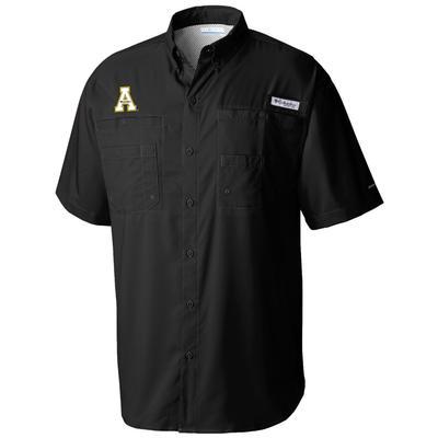 Appalachian State Columbia Men's Taimiami Short Sleeve Woven Shirt