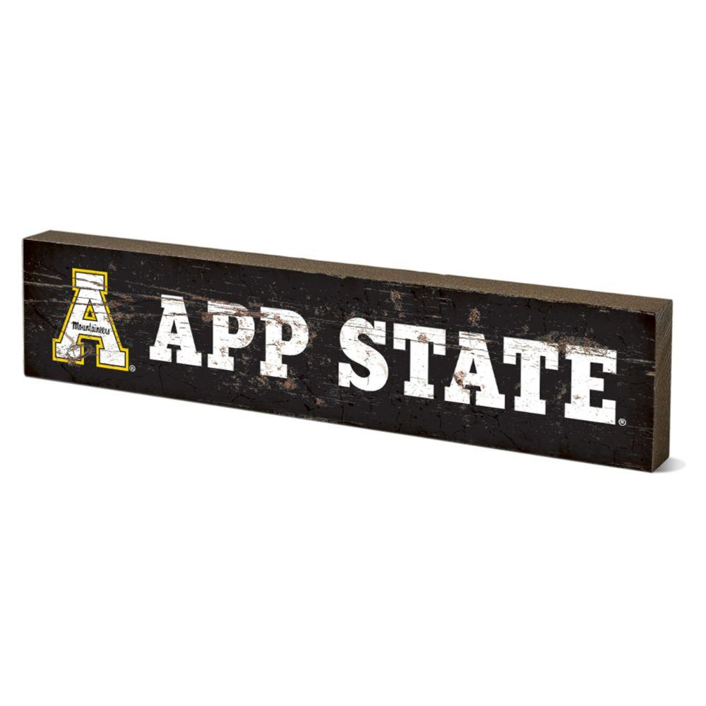 Appalachian State Legacy App State Table Top Block