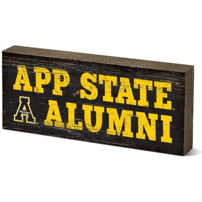 Appalachian State Legacy App State Alumni Mini Table Block