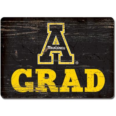 Appalachian State Legacy Grad Rectangle Magnet