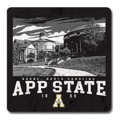 Appalachian State Legacy Campus Poster Coaster