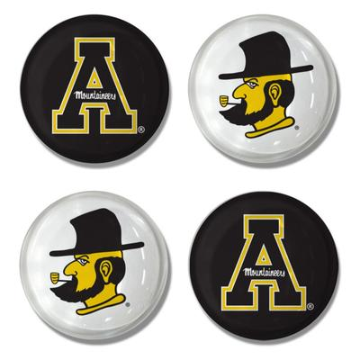 Appalachian State Legacy 4 pk Magnets