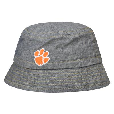Clemson Top of the World Infant Bucket Cham Twill Hat