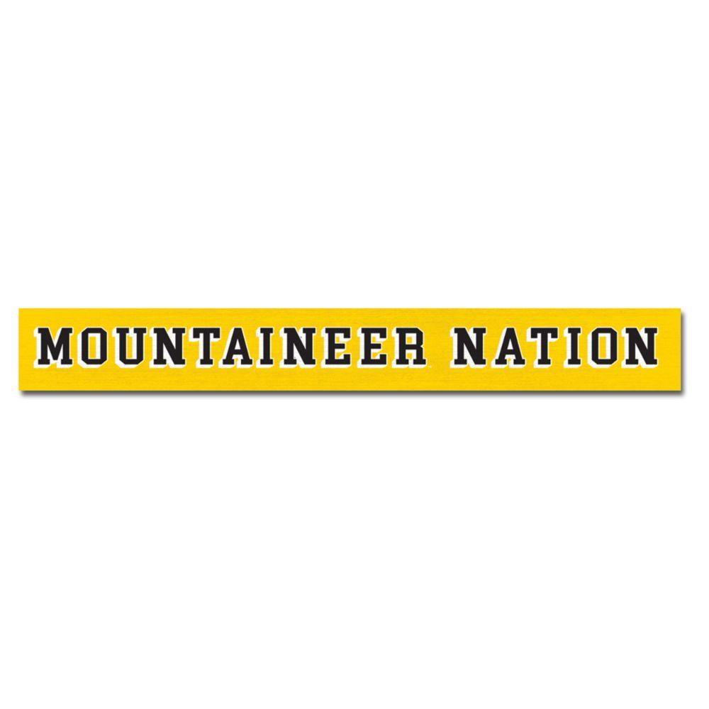 Appalachian State Legacy Mountaineer Nation Doorway Sign