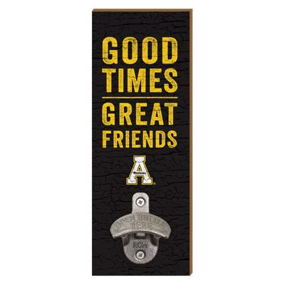 Appalachian State Legacy Wall Mount Bottle Opener