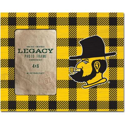 Appalachian State Legacy Buffalo Plaid Side Picture Frame
