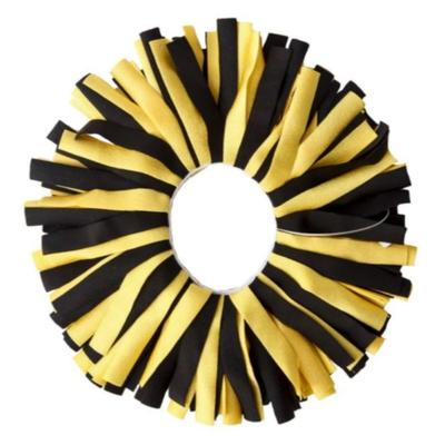 Pomchies Black and Yellow Pomchie Classic Scrunchie