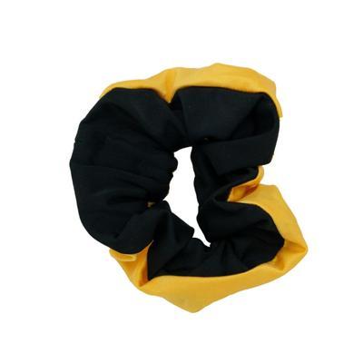 Pomchies Black and Yellow Pomchie Hair Scrunchie
