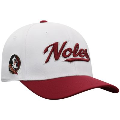 Florida State Top of the World Infield Script Wool Flex Fit Hat