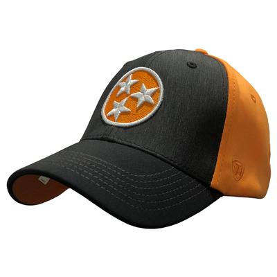 Tennessee Top of the World Tri Star Adjustable Hat