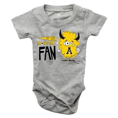 Appalachian State Infant Monster Fan Onesie