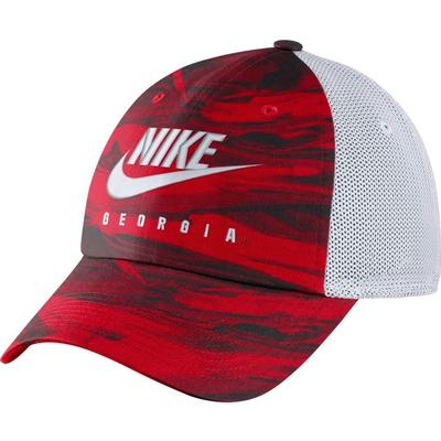 Georgia Nike H86 Spring Break Tie Dye Trucker Hat
