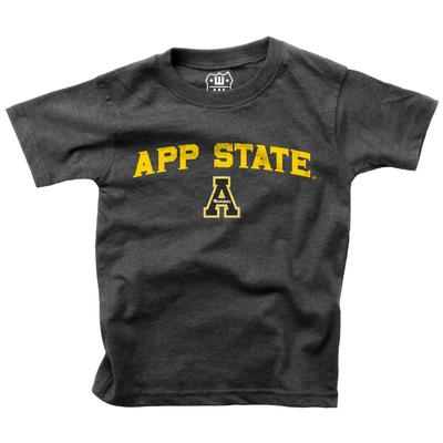 Appalachian State Boys Bold Arched Short Sleeve Tee