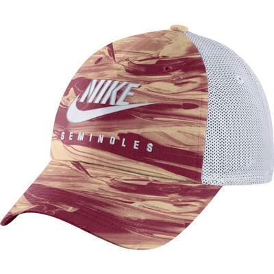 Florida State Nike H86 Spring Break Tie Dye Trucker Hat