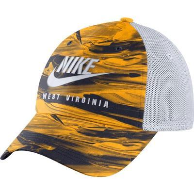 West Virginia Nike H86 Spring Break Tie Dye Trucker Hat