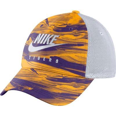 LSU Nike H86 Spring Break Tie Dye Trucker Hat