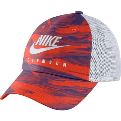 Clemson Nike H86 Spring Break Tie Dye Trucker Hat