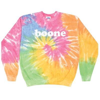 Summit Boone Boyfriend Tie Dye Crew