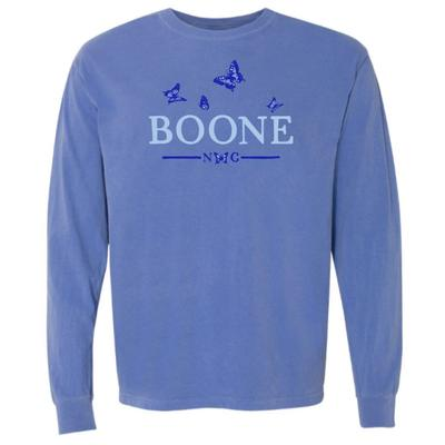 Summit Boone Butterfly Comfort Colors Long Sleeve Tee