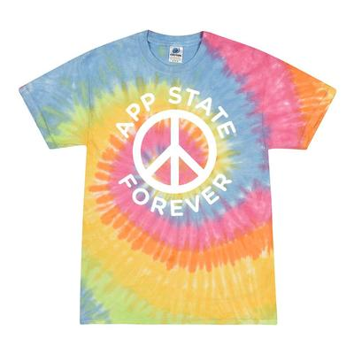 Appalachian State Summit Quinn Tie Dye App State Forever Tee