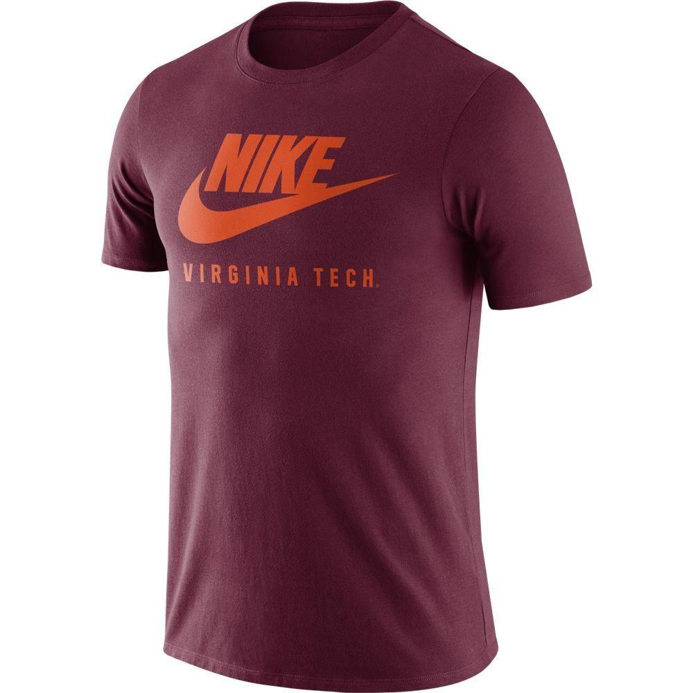 Virginia Tech Nike Men's Futura Tee