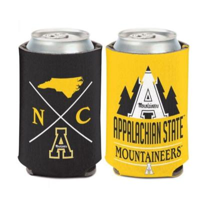 Appalachian State Hipster Can Cooler