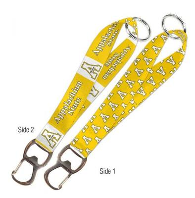 Appalachian State Keychain with Bottle Opener