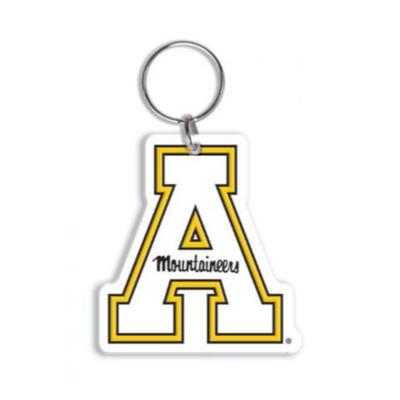 Appalachian State Flex Key Ring