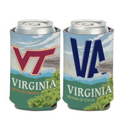 Virginia Tech 12 oz Can Cooler