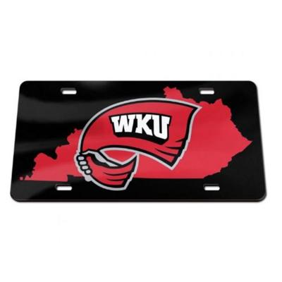 Western Kentucky State License Plate