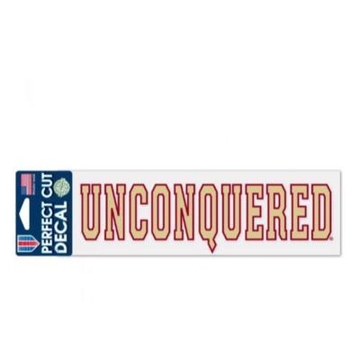 Florida State Unconquered Decal