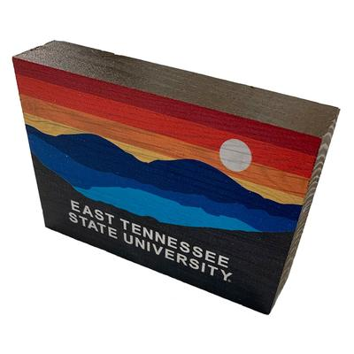 ETSU Legacy Horizon Block Table Top Decor