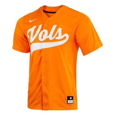 Tennessee Nike Men's Replica Baseball Jersey